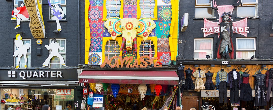 Explore the quirky world of Camden Town